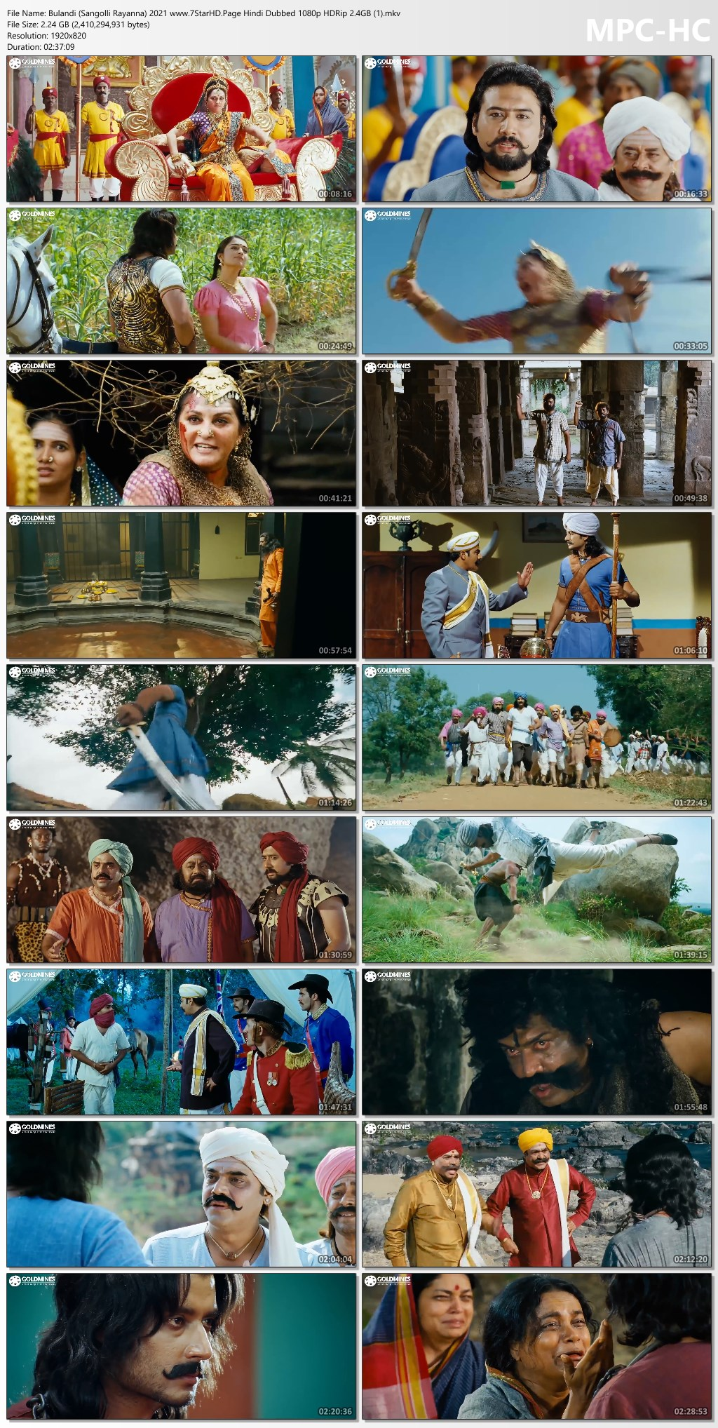 Bulandi (Sangolli Rayanna) 2021 Hindi Dubbed 720p HDRip 1.1GB Download - optimadu.com