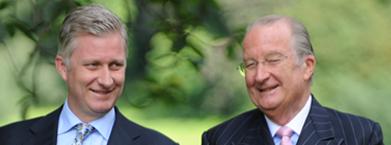 Philippe intonisation, Albert II abdication ,2013,