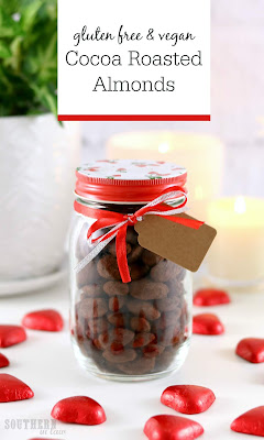 Easy Gluten Free Cocoa Roasted Almonds Recipe
