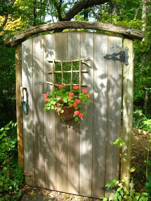 Two Men and a Little Farm: SECRET GARDEN DOOR INSPIRATION ...
