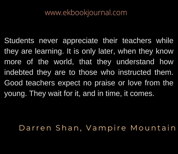Darren Shan | Vampire Mountain | Quotes