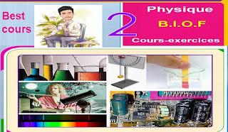 Cours physique Bac français: résumé+exercices