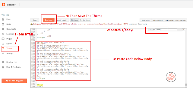 How to Remove ?m=1 From Blogger