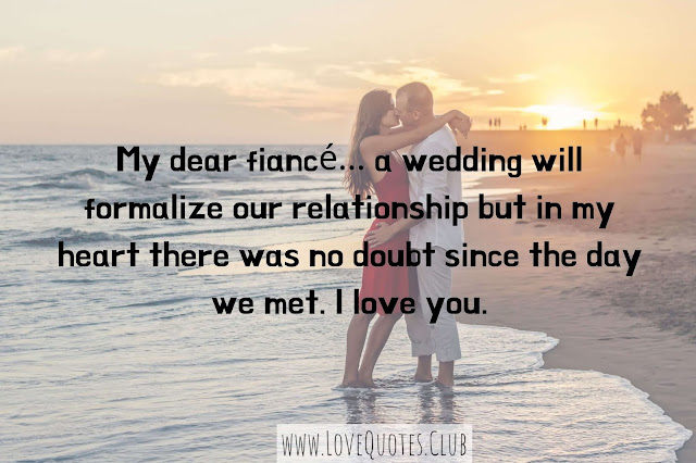 love quotes for a fiance