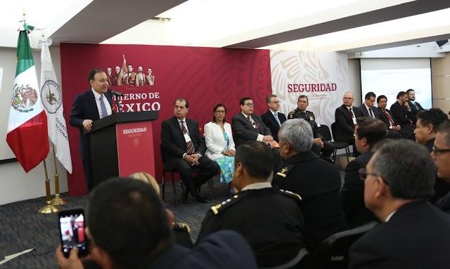 NO EXISTE AMENAZA AL ESTADO MEXICANO QUE NO PUEDA SER RESUELTA POR LAS CAPACIDADES DE INTELIGENCIA: ALFONSO DURAZO