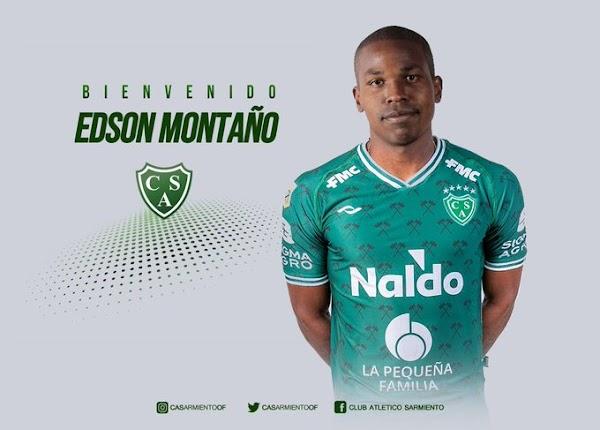Oficial: Sarmiento de Junín, firma Montaño