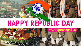 Indian National patriotic parade on 26 January