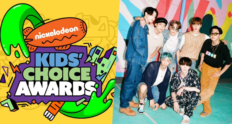 bts nickelodeon kids choice awards 2021