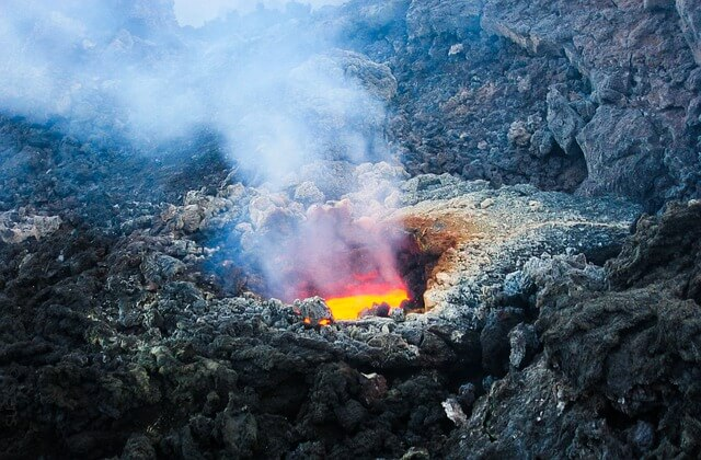 What If You Fell into a Volcano