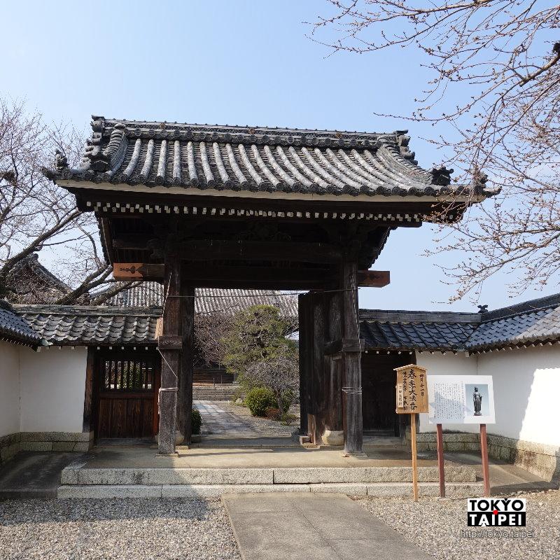 【東南寺】安土城下町 曾經有許多文物的小寺院