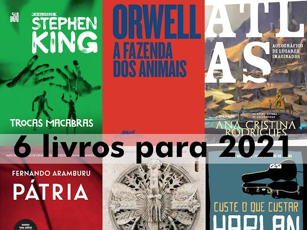 6 livros para 2021