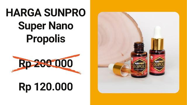 Harga Sunpro Super Nano Propolis NASA Stokis NASA AB.1346 Kasimura Herbal