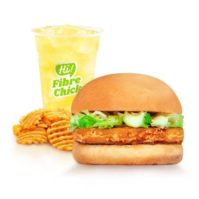 Phuture Food HIGH-FIBRE CHICK'N Burger Set