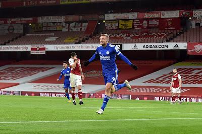 ملخص وهدف فوز ارسنال على ليستر سيتي (0-1) الدوري الانجليزي