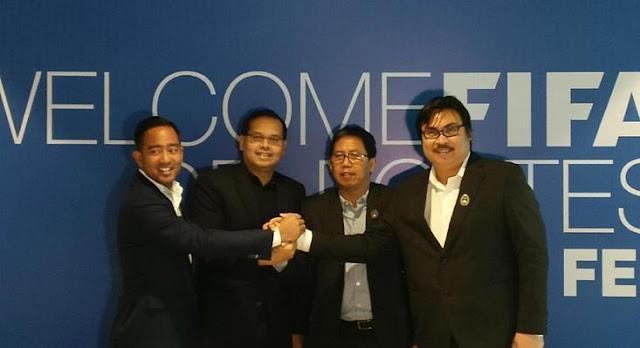 FIFA Gelontorkan Dana untuk Bantu Pembangunan Sepakbola Indonesia
