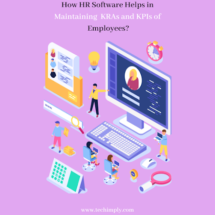 How Hr Software Helps In Maintaining KRAs And KPIs Of Employees?