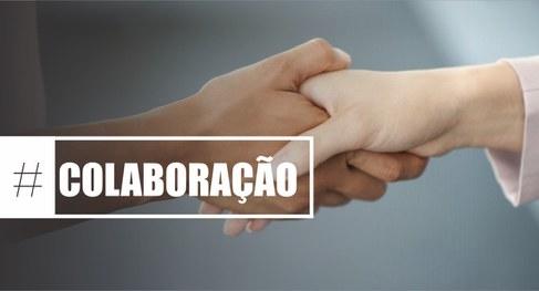 Colaboração - aperto de mãos