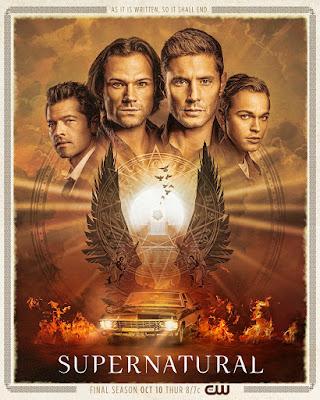 جولة أخيرة لعائلة (وينشستر) في ملصق الموسم النهائي لمسلسل خوارق للطبيعة Supernatural