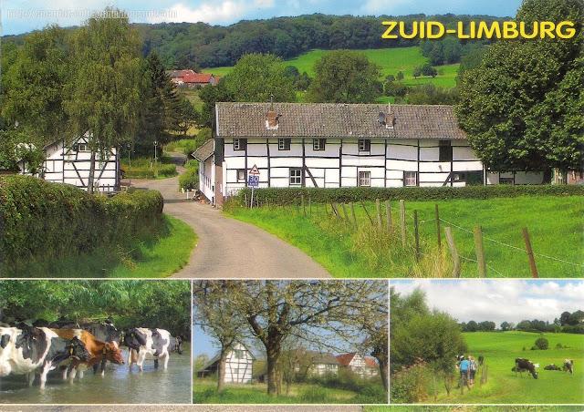 Postcard of South Limburg (Zuid-Limburg), Netherlands