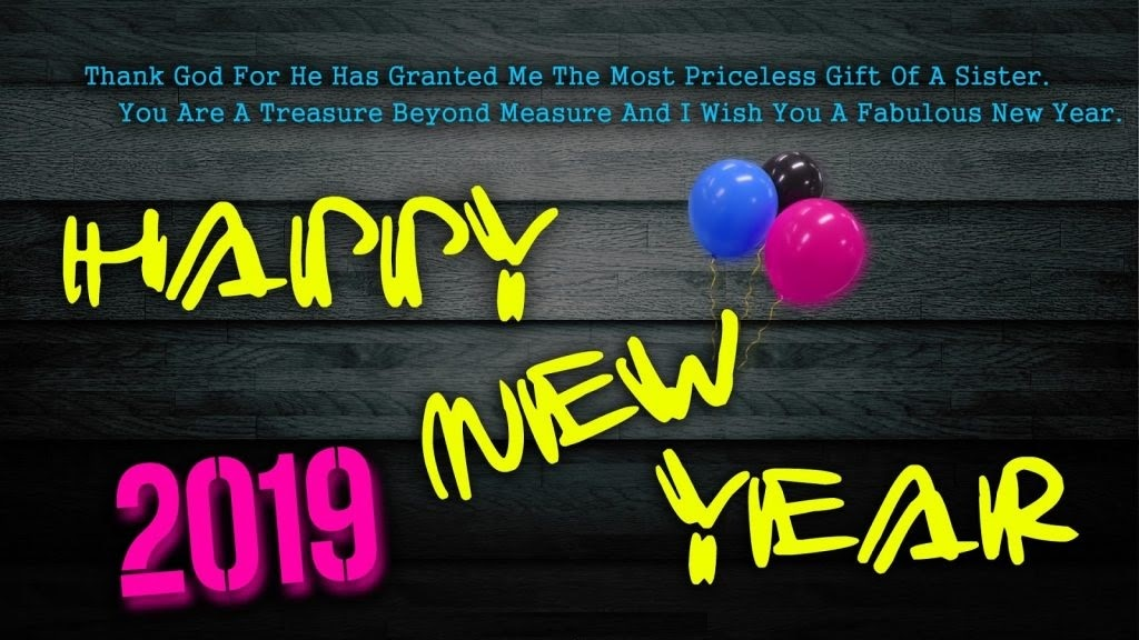 High Resolution 2019 New Year Wallpaper Background New Year