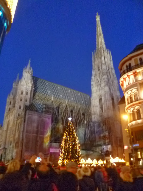 {Erin Out and About} Vienna Christmas Markets: Stephansdom