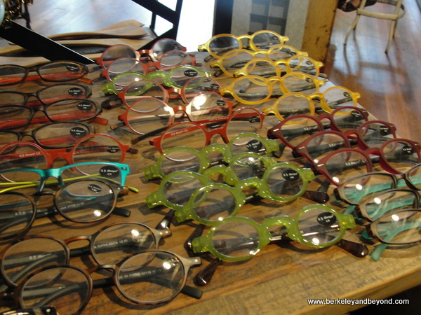 colorful reading glasses at Farmhouse Mercantile in Boonville, California