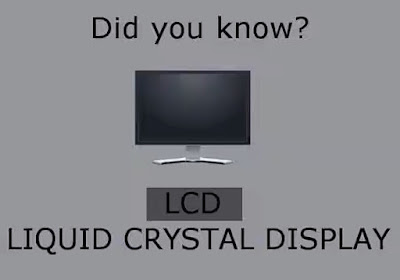 Technological abbreviation acronyms meaning lcd