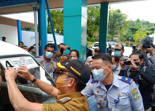 Walikota Balikpapan Launching Rute Baru Angkutan Kota