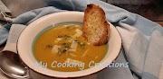 Крем супа от тиква с чипс от салвия
