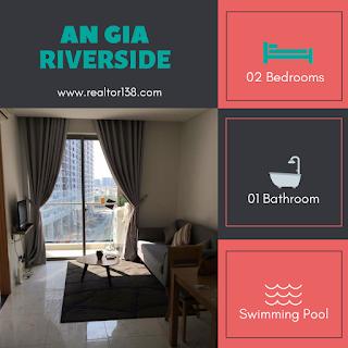 cho thuê căn hộ an gia riverside 2 phòng có nội thất