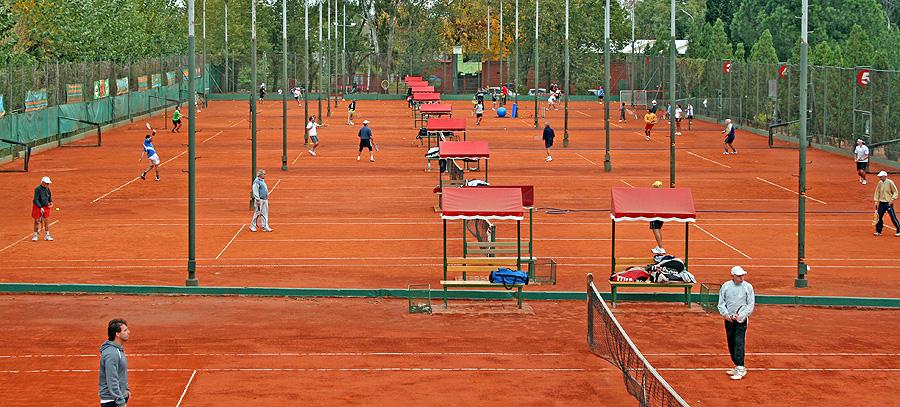 Complejo De Tenis