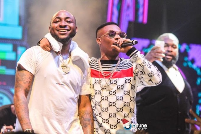 "Davido Declares Wizkid As A ""Legend And An Icon"""
