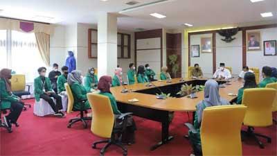 Walikota Solok Lepas Kepulangan Mahasiswa KKN Unand Padang