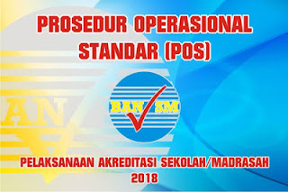 Download POS Akreditasi Sekolah/Madrasah 2018