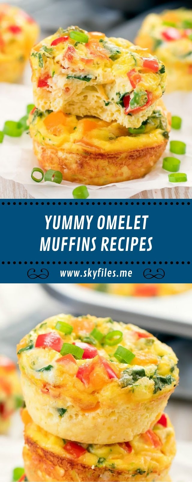 YUMMY OMELET MUFFINS RECIPES