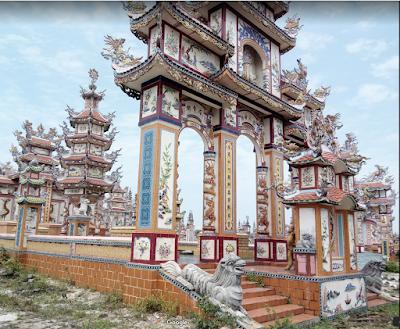 Lăng mộ Trang trí nguy nga tráng lệ