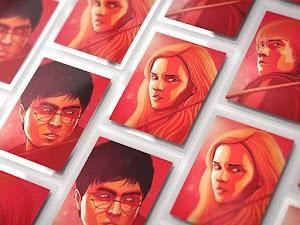 Three Poster Mockups ~ PSD