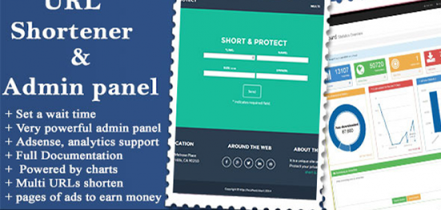 URL Shortener with Ads and Powerful Admin