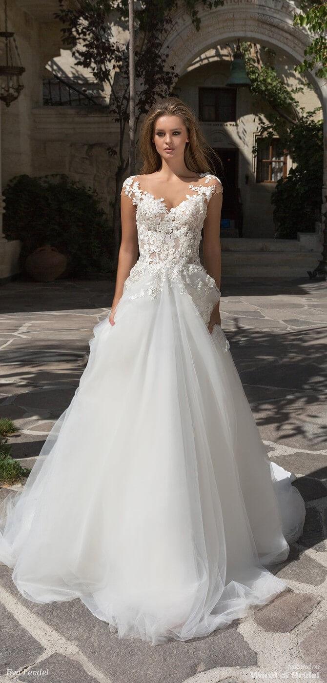 Eva lendel 2018 wedding dresses world of bridal for Eva lendel wedding dresses