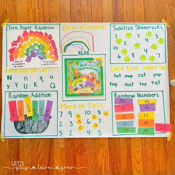 St. Patrick's Day Activity Mats