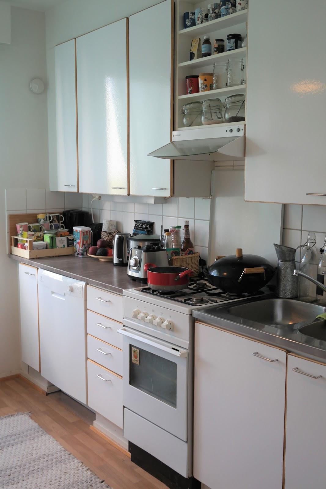 keittiön muutos jälkeen
