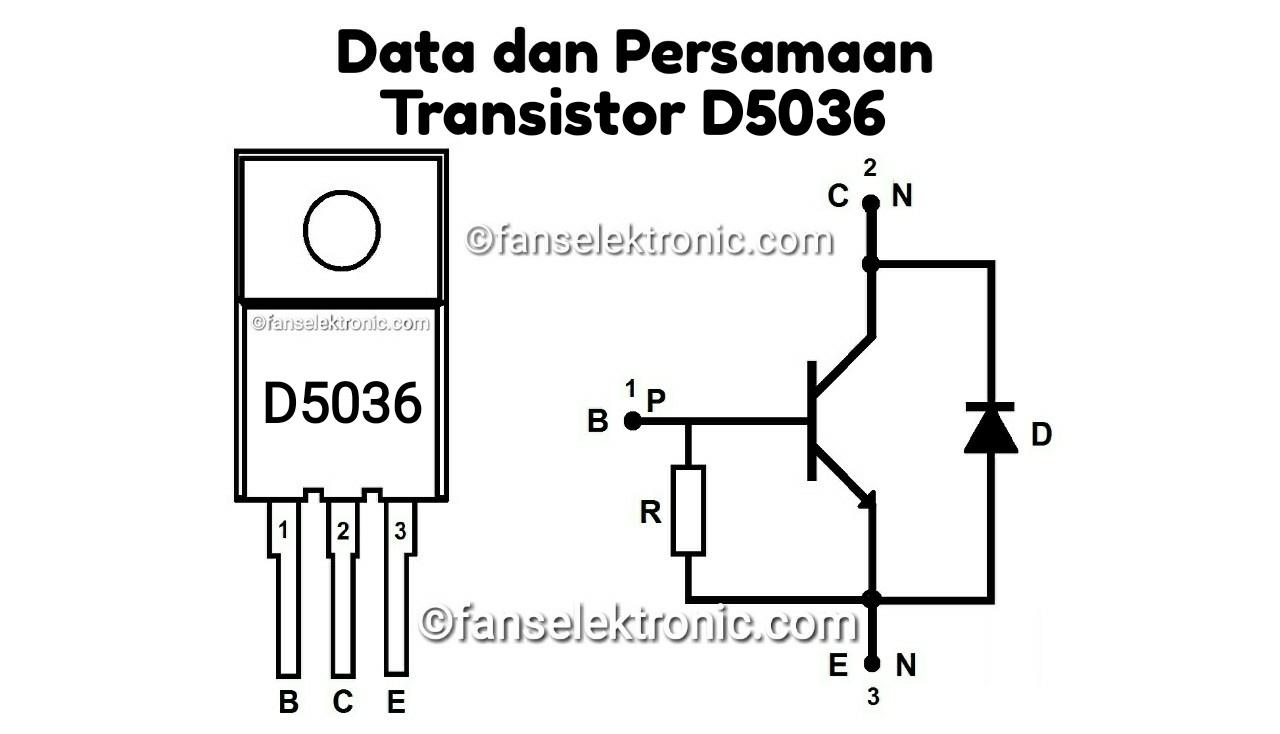 Persamaan Transistor D5036