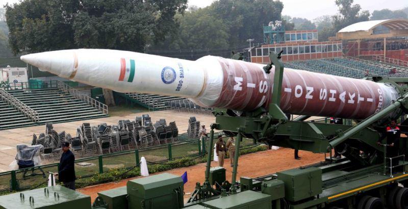 Rudal berkemampuan  nuklir India