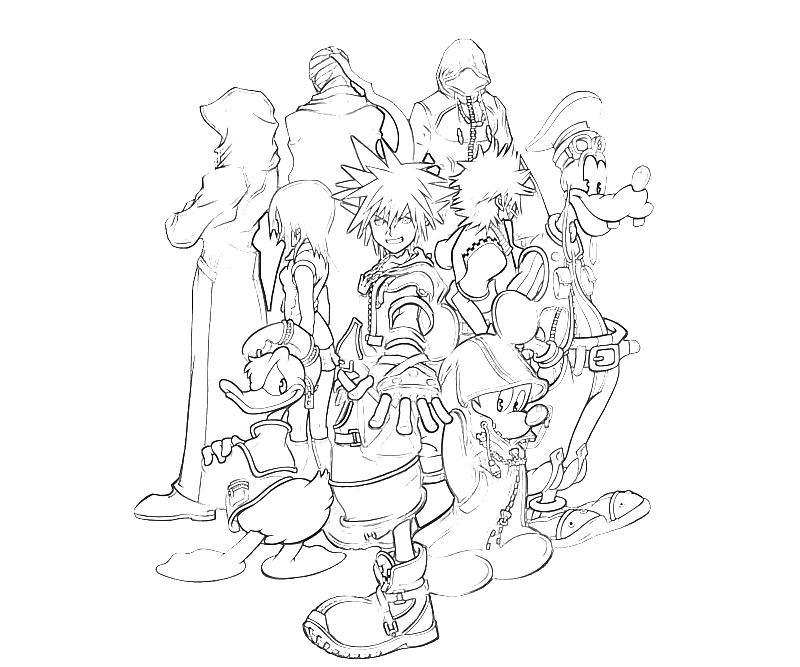 10 Sora Arts in Kingdom Hearts