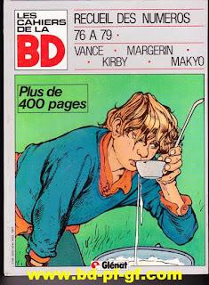 Les cahiers de la bande dessiné, recueil de 76 à 79