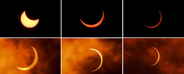Photos Show Thrilling 'Ring of Fire' Solar Eclipse From This Weekend