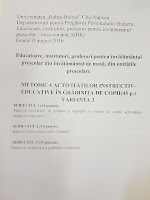 Subiecte educatori Cluj 2016 - grad didactic 2