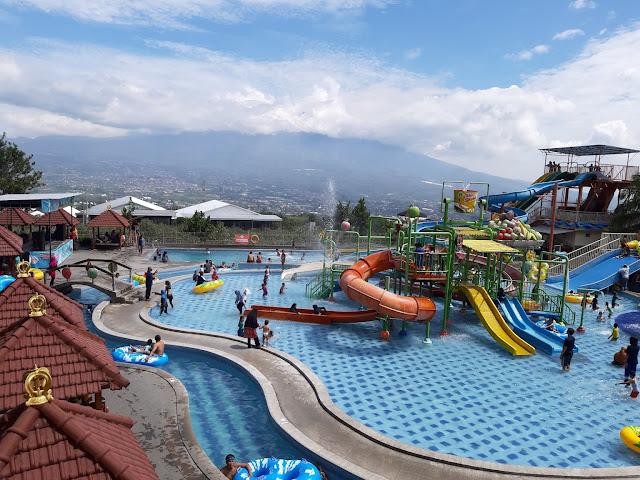 Kusuma Agro waterpark, harga tiket masuk, waterpark terbaru malang, harga tiket waterpark malang