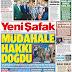 Η τουρκική φιλοκυβερνητική φυλλάδα Yeni Safak απειλεί με πόλεμο την Ελλάδα: «Δημιουργήθηκε δικαίωμα επέμβασης της Τουρκίας»
