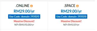 Free domain exabyte.my dan exabyte 1 tahun